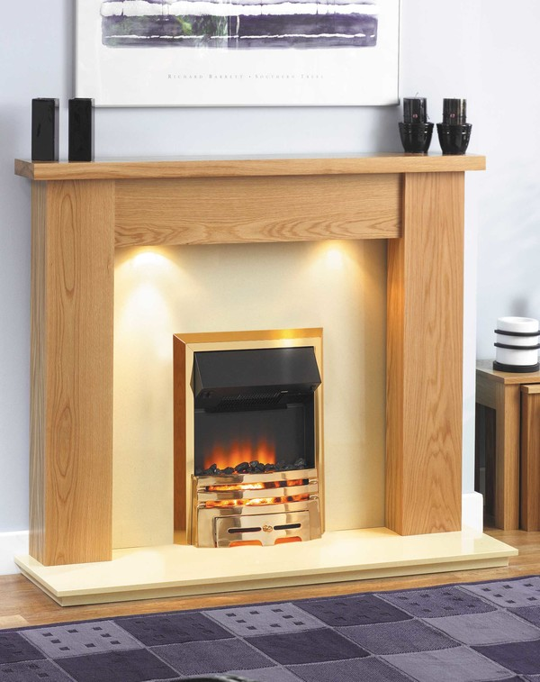 Jersey fire surround l