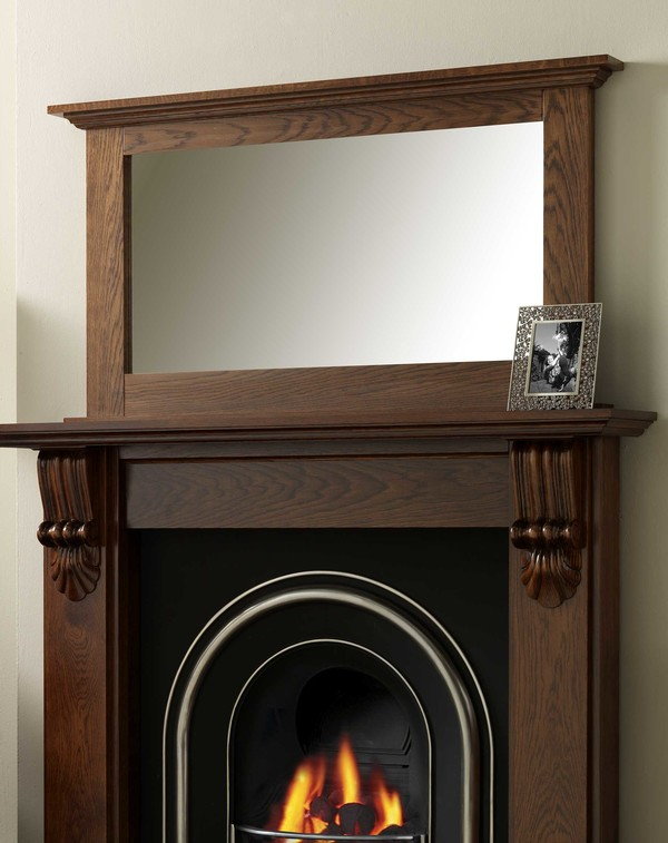 Clarence fire surround mirror l