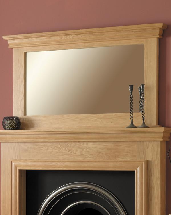 Sydney wood mirror l