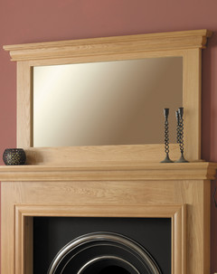 Solid Oak Sydney Mirror