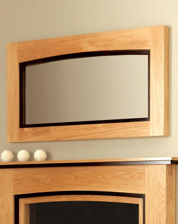Wellington wood mirror l