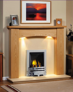 Solid Oak Baltimore Surround