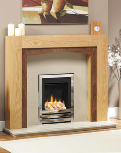 Solid Oak Philadelphia Fire Surround