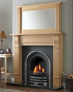 Hamilton Solid Oak Fire Surround