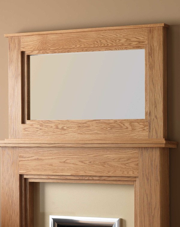 Dalby wood mirror l