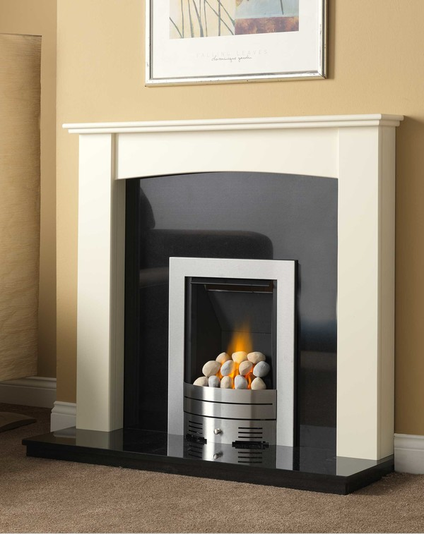 Brampto wood fire surround l